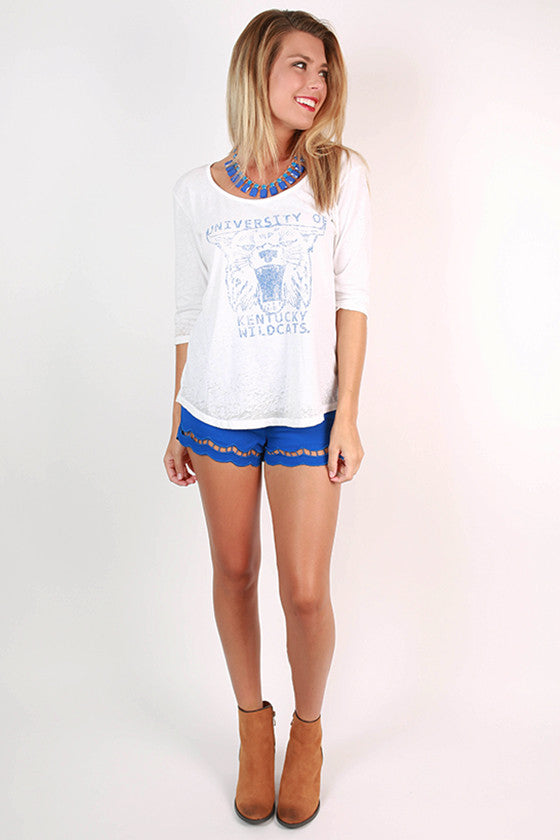University of Kentucky Boyfriend Tee