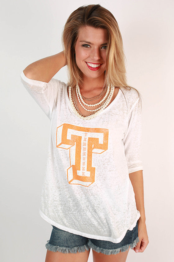 University of Tennessee Boyfriend Tee