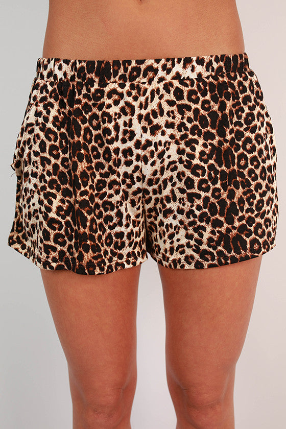 Cheetah Me Pretty Shorts