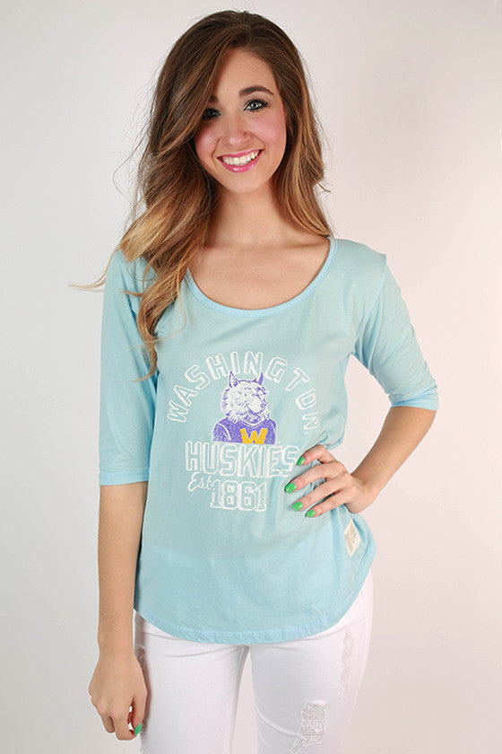 University of Washington Boyfriend Tee