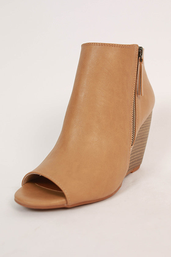 Rebellion Bootie in Khaki