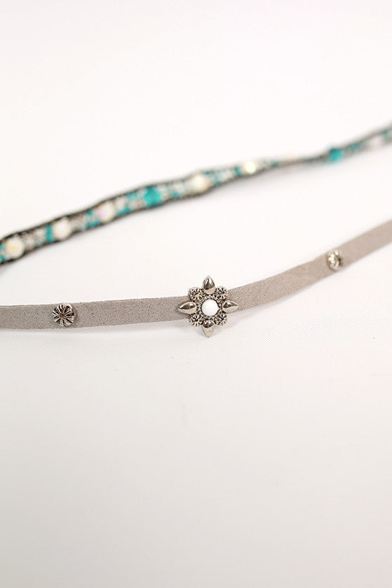 Daydreamer Divine Wrap Bracelet in Grey