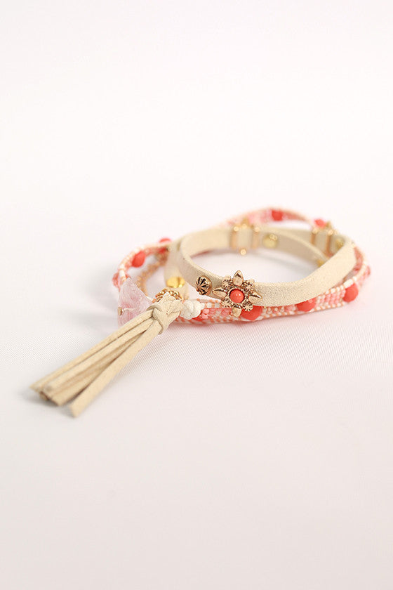 Daydreamer Divine Wrap Bracelet in Ivory