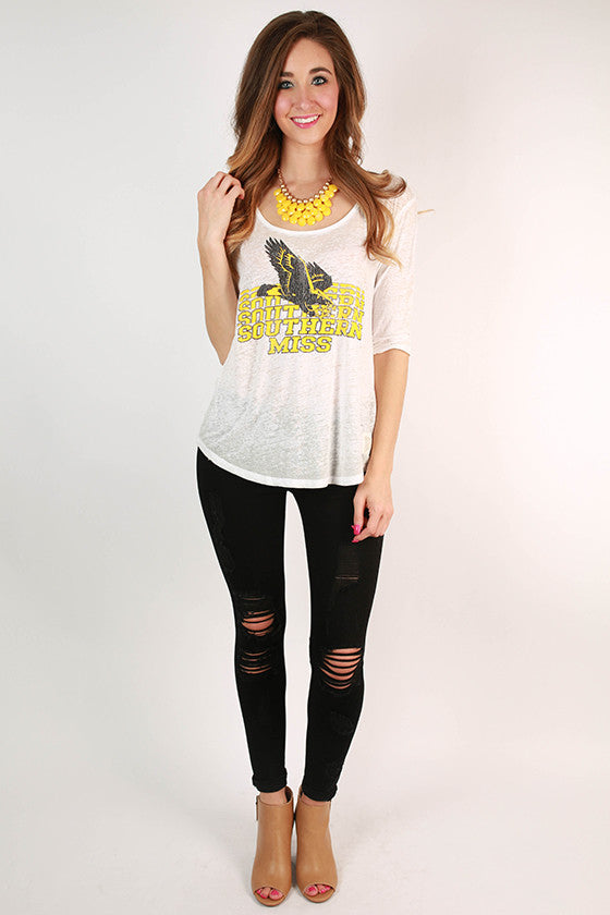 University of Southern Mississippi Boyfriend Tee