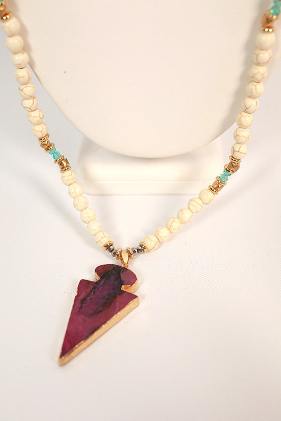 Natural Beauty Necklace in Royal Lilac