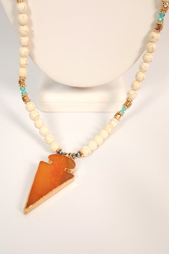 Natural Beauty Necklace in Honey