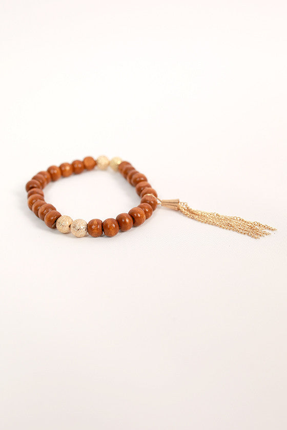 Sweet in Soho Stacking Bracelet in Brown