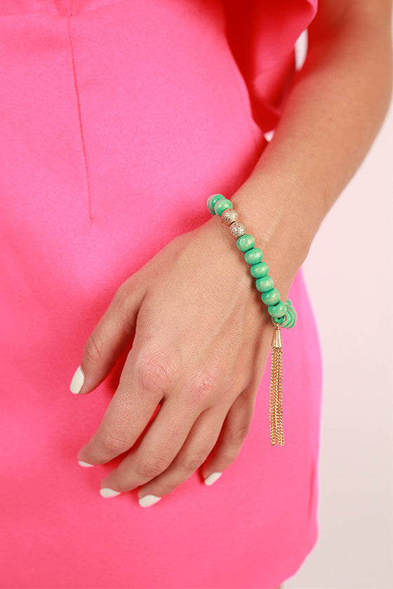 Sweet in Soho Stacking Bracelet in Ocean Wave