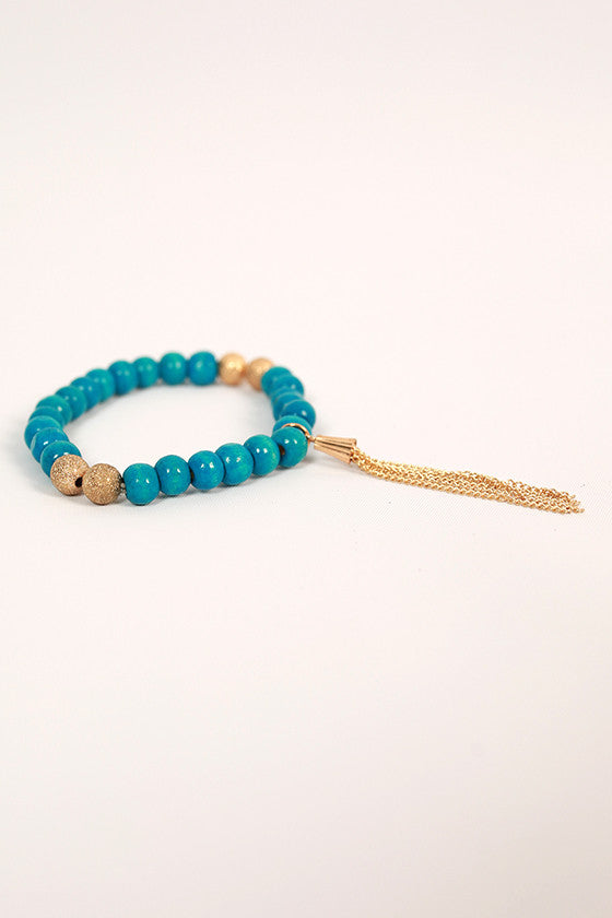 Sweet in Soho Stacking Bracelet in Ocean Blue