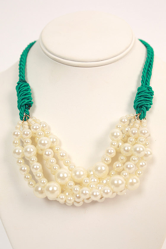 Prep & Chic Pearl Necklace