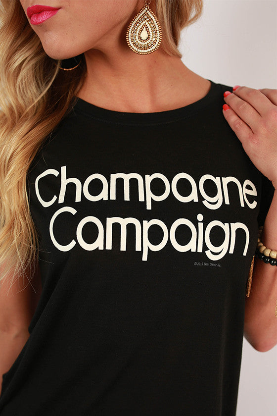 Champagne Campaign Tee
