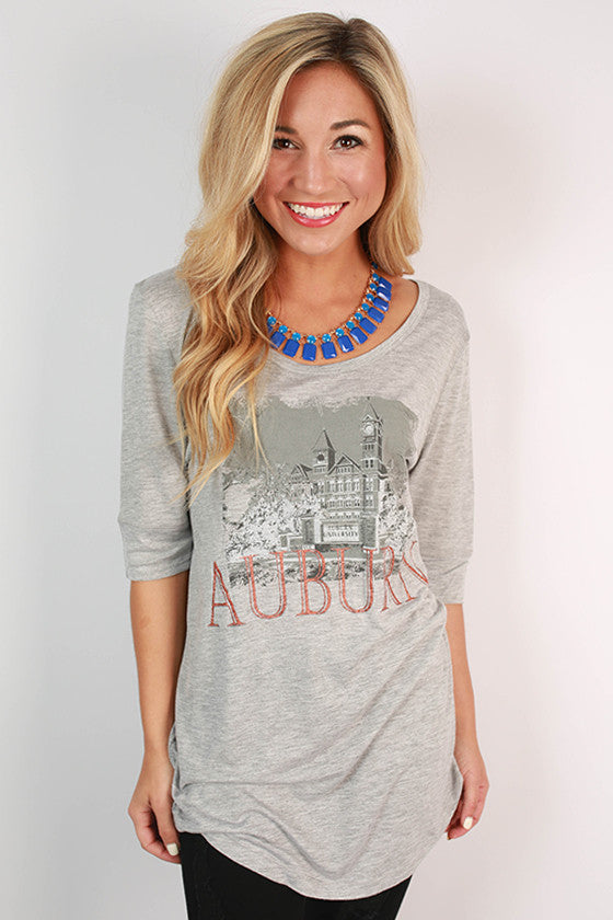 Auburn University Landmark Tunic