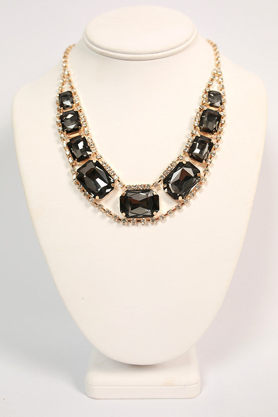 Southern Divine Necklace in Black