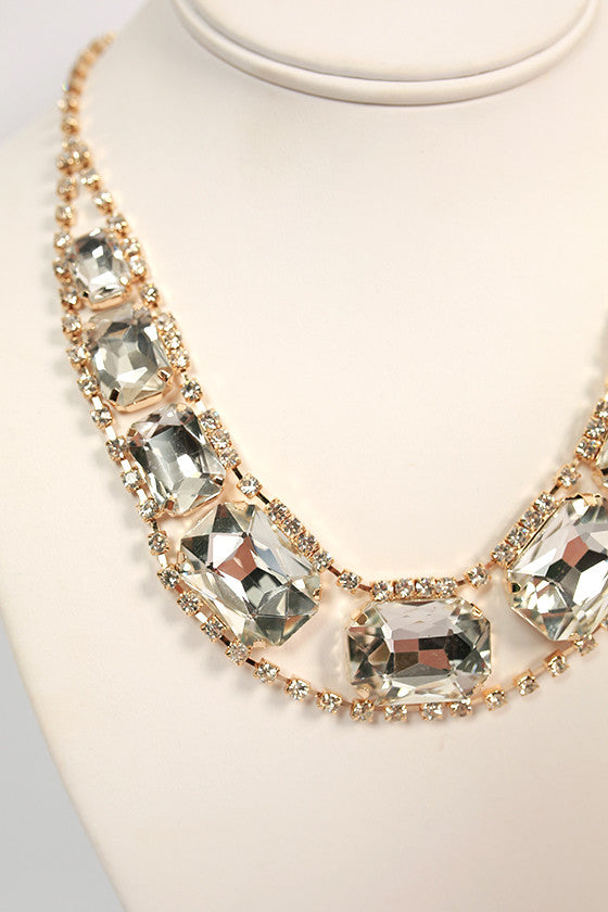 Southern Divine Necklace in Clear
