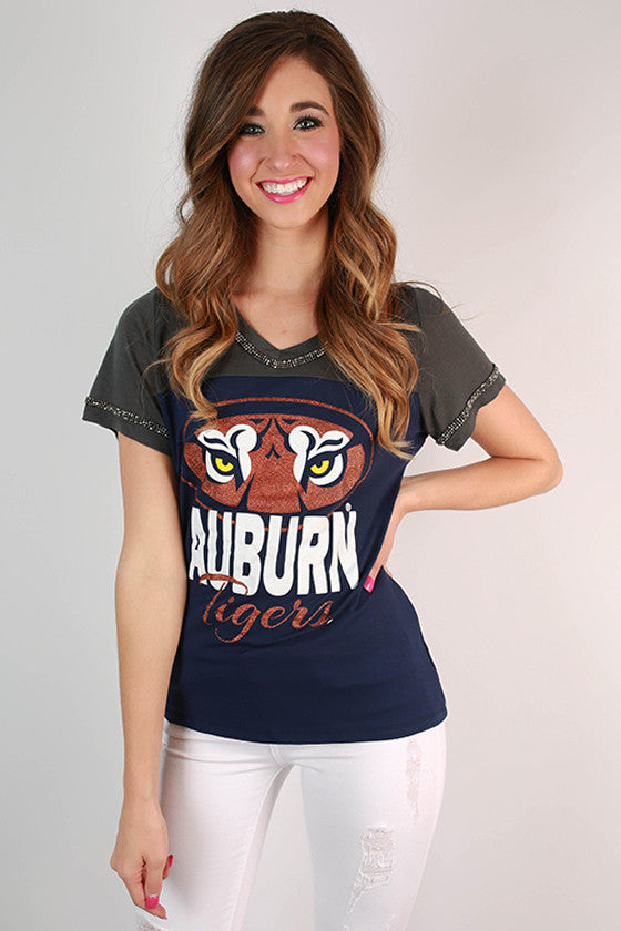 Auburn University Football Burnout Tee