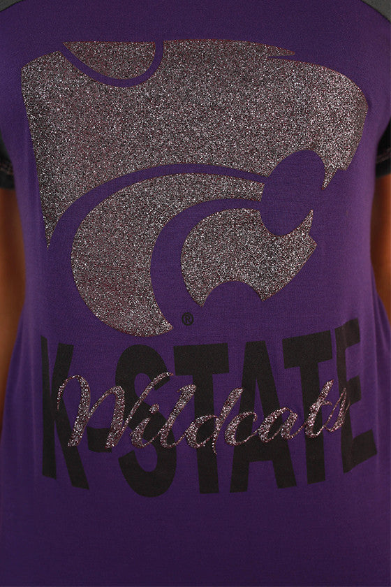 Kansas State University Football Burnout Tee