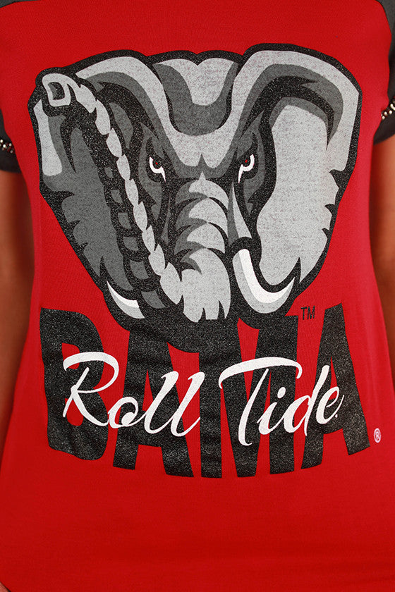 University of Alabama Football Burnout Tee