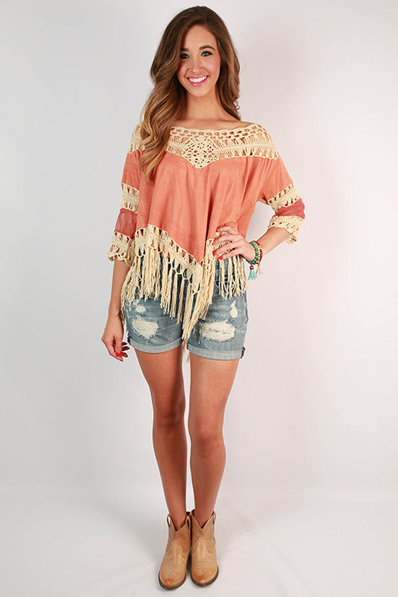 Dance With Me Crochet Top