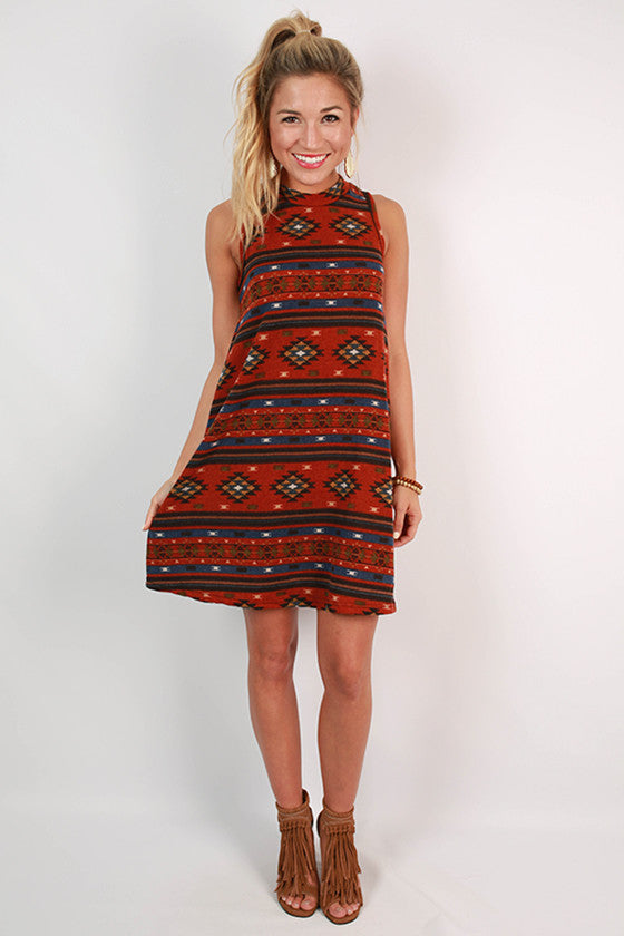 The Deep South Flare Dress