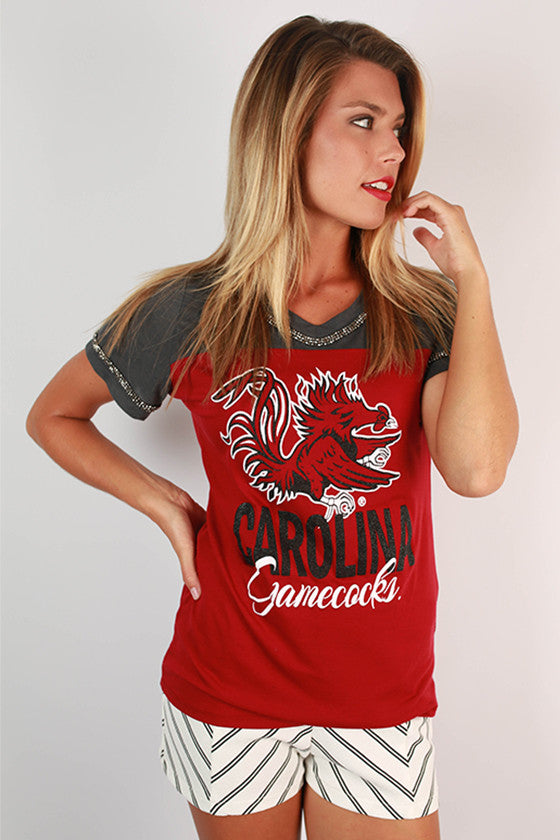 University of South Carolina Football Burnout Tee
