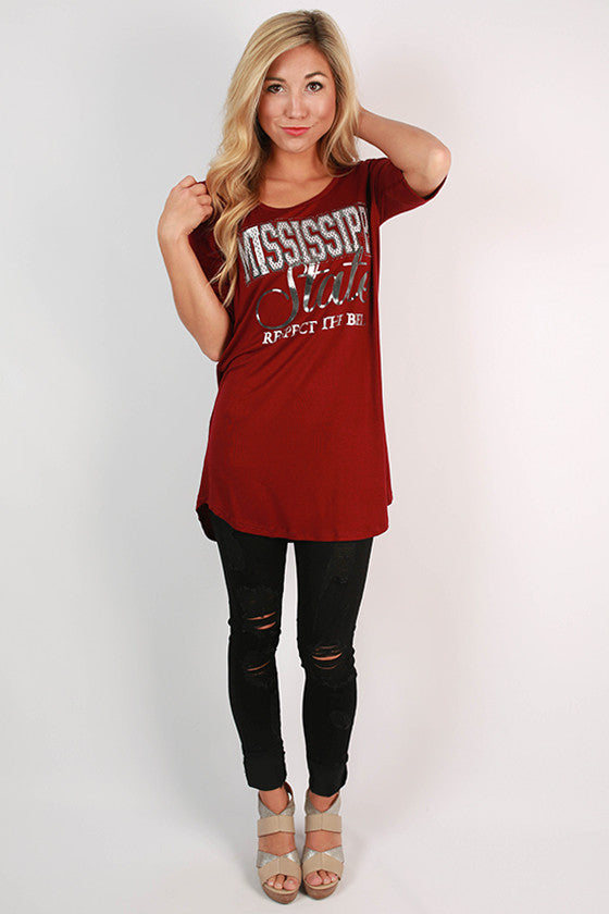 Mississippi State University Statement Tunic
