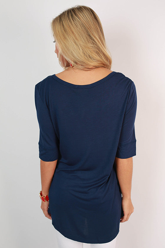 University Of Dayton Statement Tunic