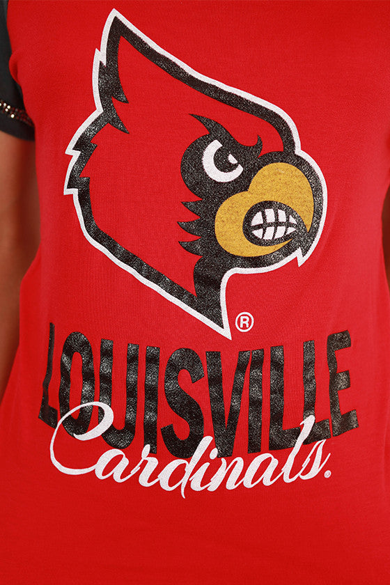 University of Louisville Football Burnout Tee