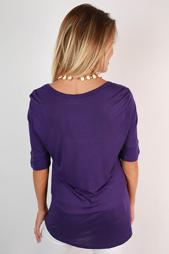 Texas Christian University Statement Tunic