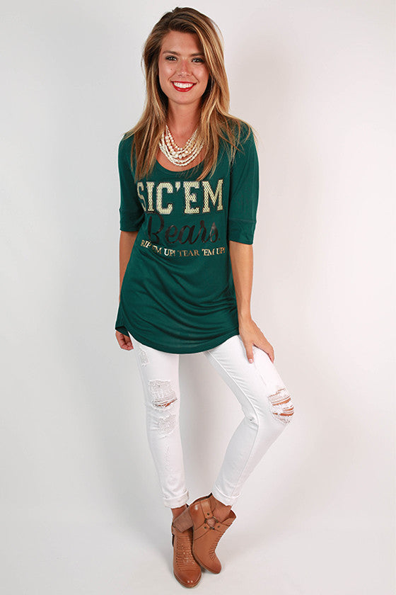 Baylor University Statement Tunic