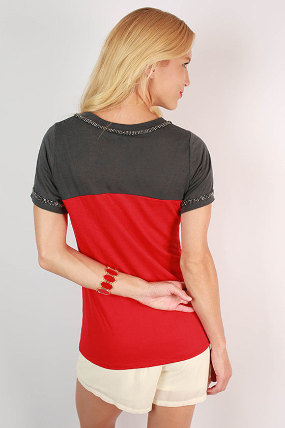 Texas Tech University Football Burnout Tee