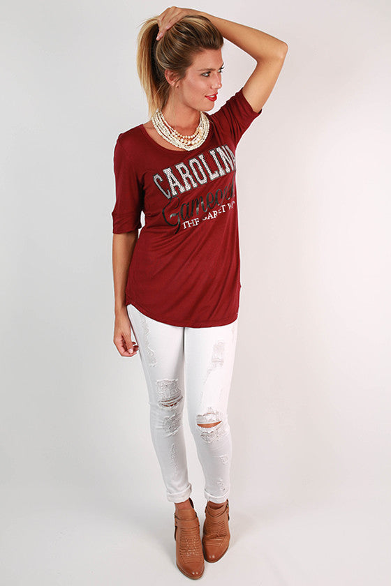 University Of South Carolina Statement Tunic