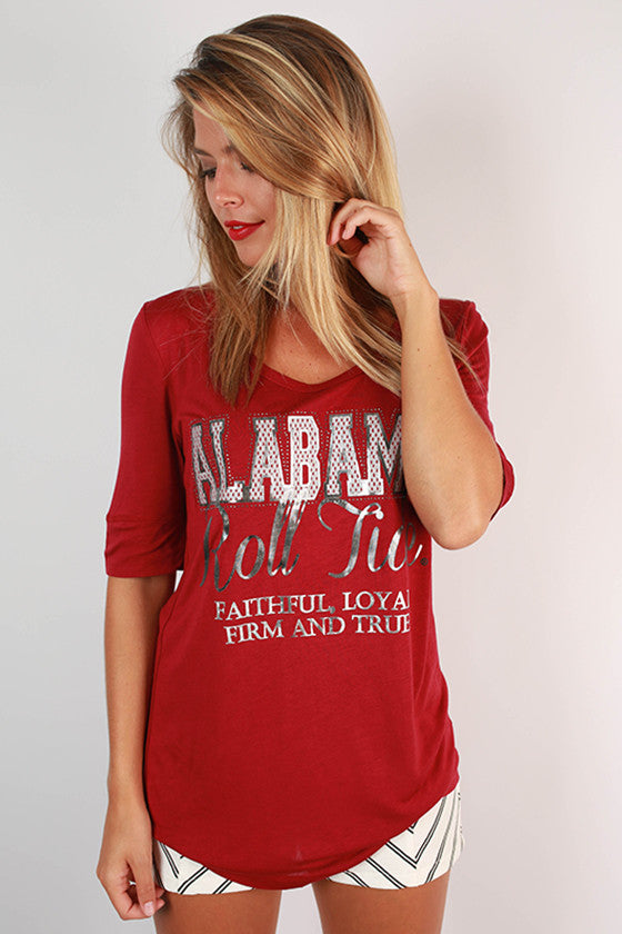 University Of Alabama Statement Tunic