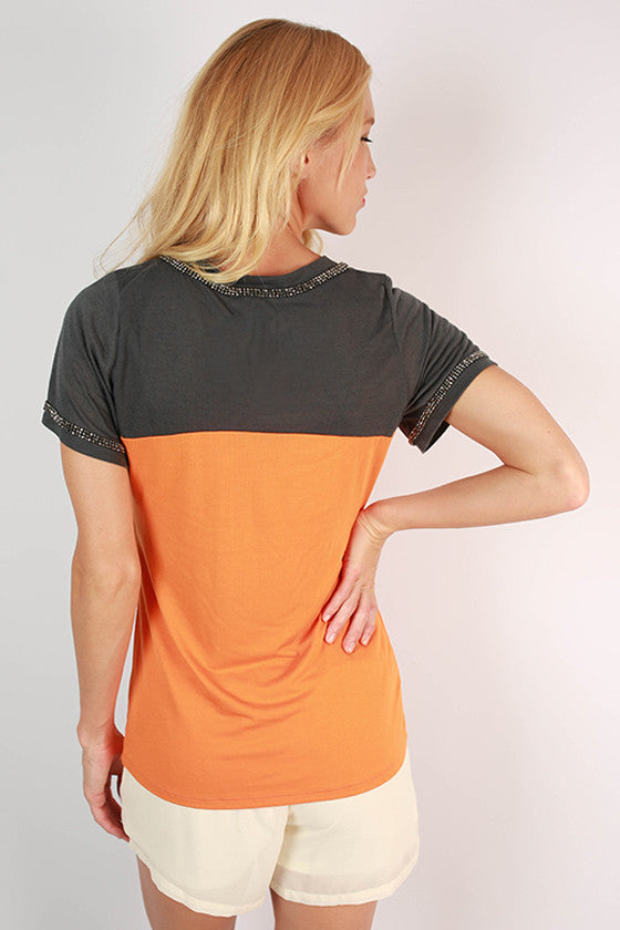University of Tennessee Football Burnout Tee