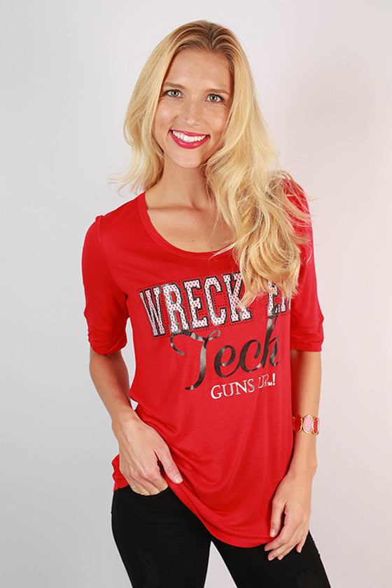 Texas Tech University Statement Tunic