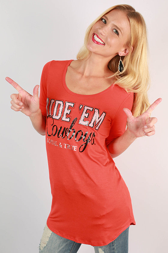 Oklahoma State University Statement Tunic