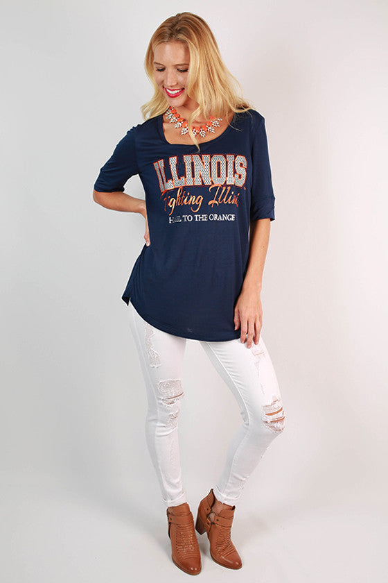 University Of Illinois Statement Tunic