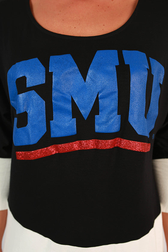 Southern Methodist University Color Block Tunic