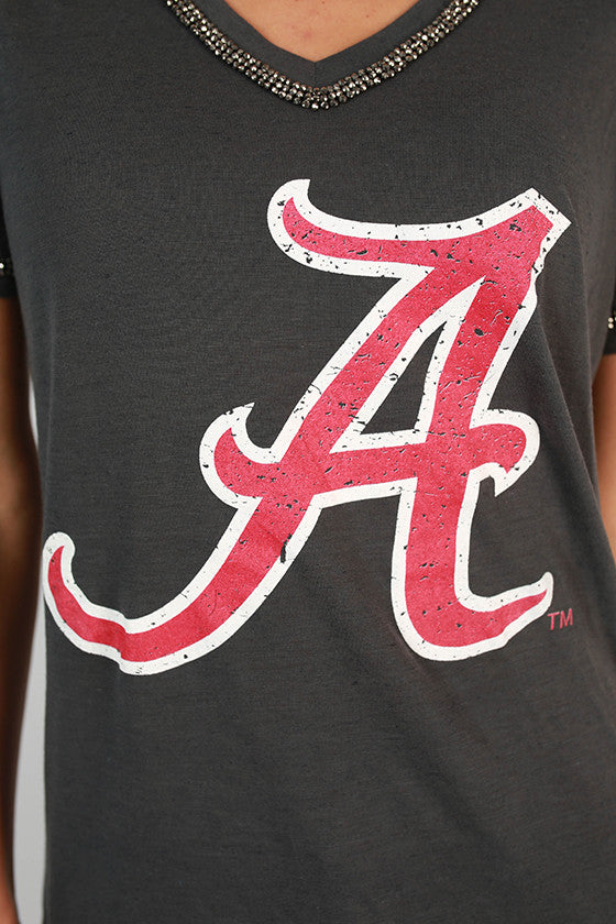 University Of Alabama Boyfriend V-Tee