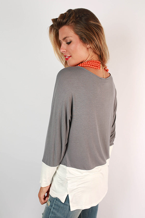Clemson University Color Block Tunic