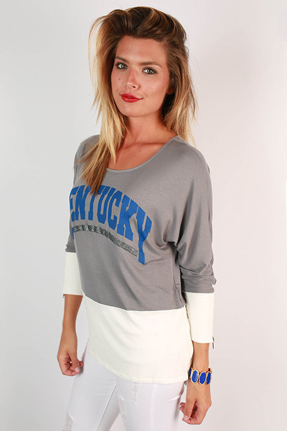 University of Kentucky Color Block Tunic
