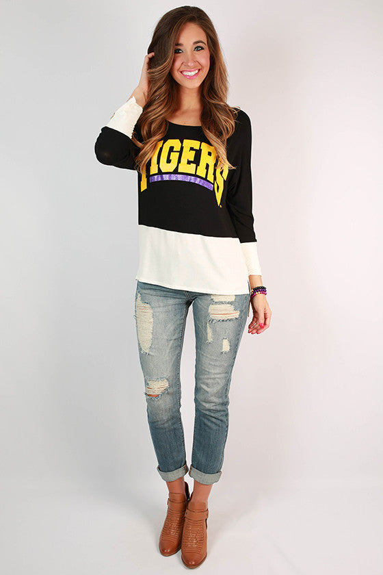 Louisiana State University Color Block Tunic