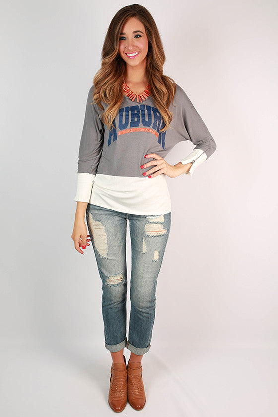 Auburn University Color Block Tunic