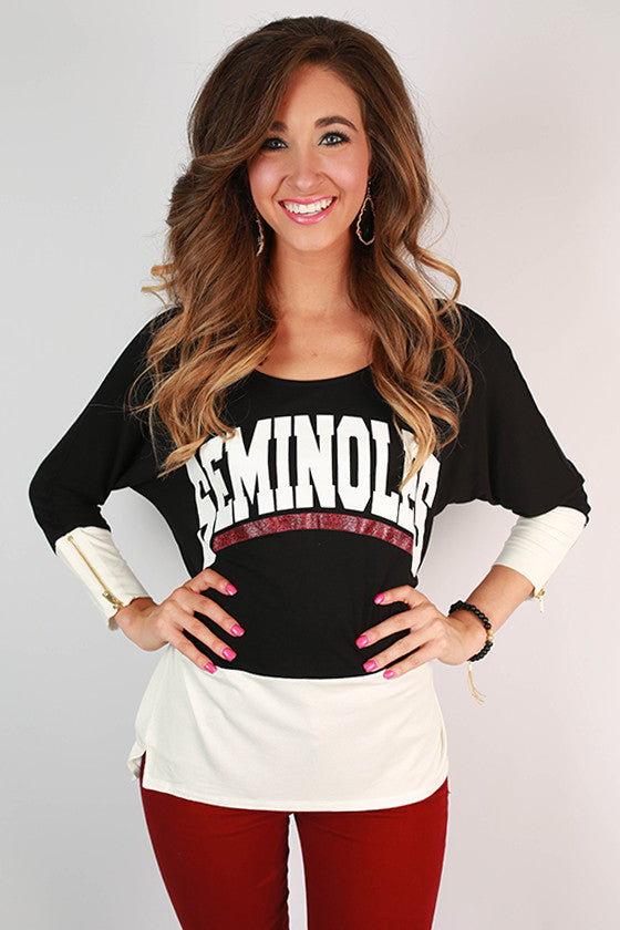 Florida State University Color Block Tunic