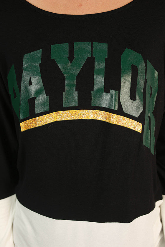 Baylor University Color Block Tunic