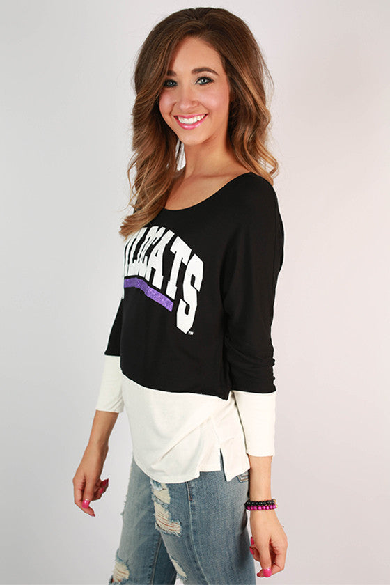 Kansas State University Color Block Tunic