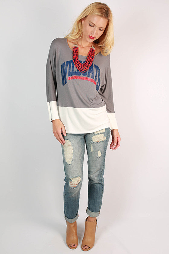 University of Arizona Color Block Tunic