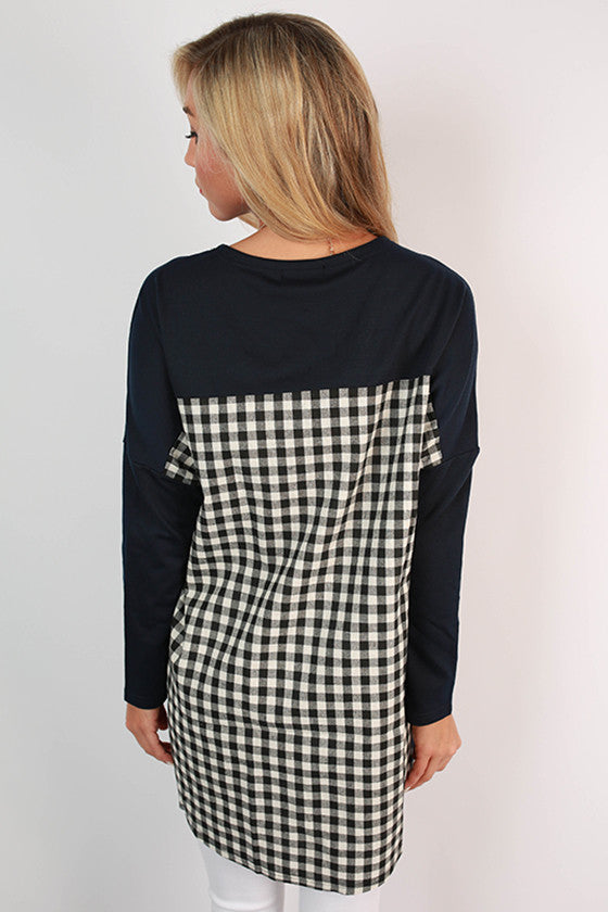 University of Mississippi Gingham Tunic