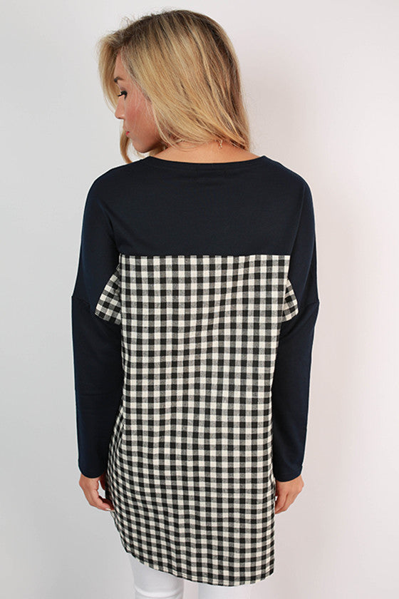Auburn University Gingham Tunic