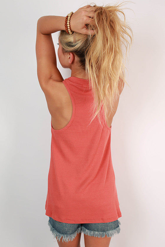 Austin Roots Ribbed Tank