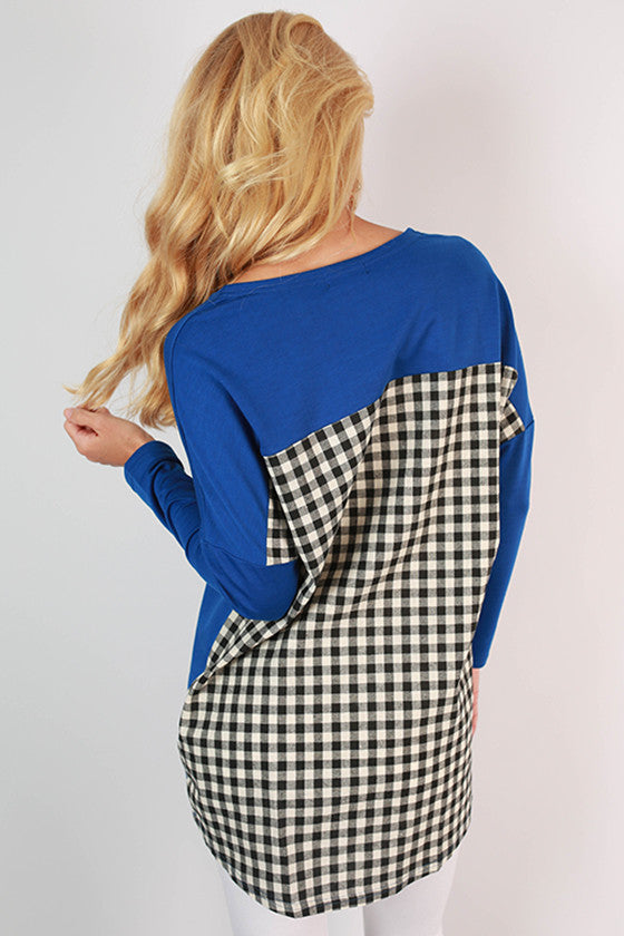 University of Florida Gingham Tunic